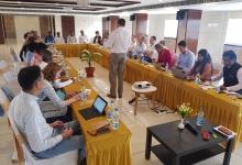 Stakeholders meeting in Khamman.